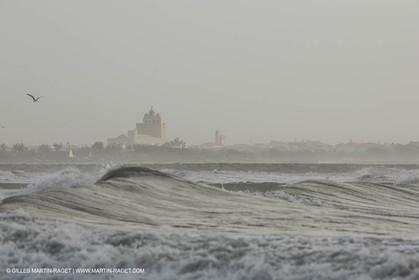 25 12 2013 - Les Saintes Maries de la Mer (FRA,13) - Winter storm