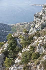 10 09 2009 - Marseille (FRA, 13) - Les Calanques - Massif de Marseilleveyre - Cabanons de la calanque de Marseilleveyre