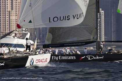 14 11 2010 - Dubai (UAE) - Dubai Louis Vuitton Trophy -  BMW ORACLE Racing - Training - Race Day 1