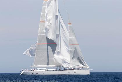 08 06 2016, Porto Cervo (ITA, Sardinia), Loro Piana Super Yachts Regatta, Race Day One, Unfurled