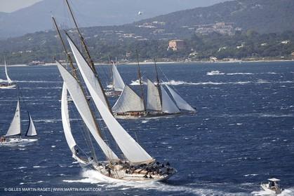 07 10 2006 - Saint Tropez (Fr) - Voiles de Saint Tropez 2006 - Classic Yachts