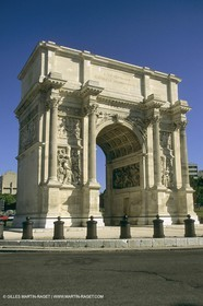Marseille historical heritage (check keywords for more infos), Porte d'Aix
