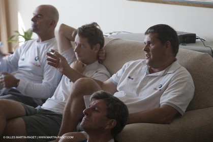 16 11 2010 - Dubai (UAE) - Dubai Louis Vuitton Trophy -  BMW ORACLE Racing - Pre race meeting