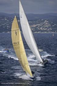 Classic Yachts, J Class, endeavour Vs Ville de Paris, Nioulargue, St Tropez (FRA,13)