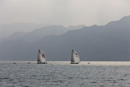 09 07 2008 - Malcesine (ITA, Lake Garda) - RC 44 World Championsship - Malcesine SLAM Cup 08 - Day 1