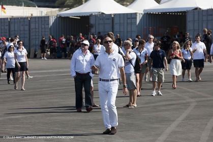 21 11 2010 - Dubai (UAE) - Dubai Louis Vuitton Trophy -  Round 2 - BMW ORACLE Racingg Vs Emirates Team New Zealand