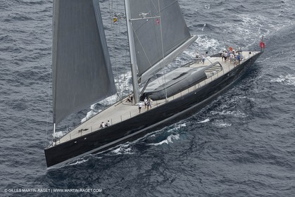 11 10 2014, Alicante (ESP), Volvo Ocean Race 2014-15 start, Super Yacht Aglaia