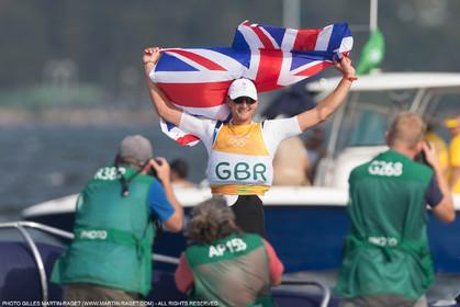 16 08 2016, Rio de Janeiro (BRA), 2016 Olympic Games, Sailing, Giles Scott (GBR)