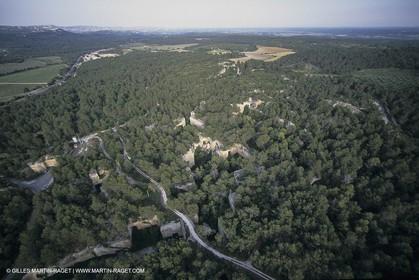 France, Provence, Carrières de pierres de Fontvieille