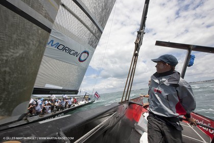29 01 2009 - Auckland (NZL) -  Louis Vuitton Pacific Series - BMW ORACLE Racing - Training
