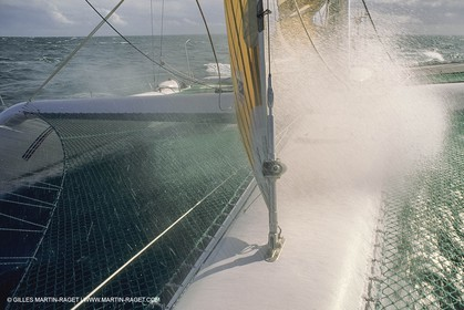 Yacht Racing, Multihull, ORMA 60, Primagaz, Laurent Bourgnon