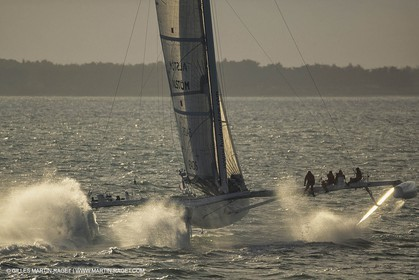 Sailing, Speed, foiling, L'Hydroptère