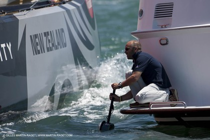 07 02 2009 - Auckland (NZL) -  Louis Vuitton Pacific Series -  Racing Day 7 - Round Robin 2