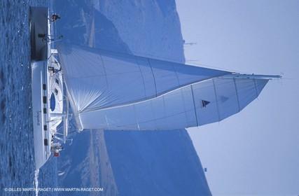 Cruising multihull sailing