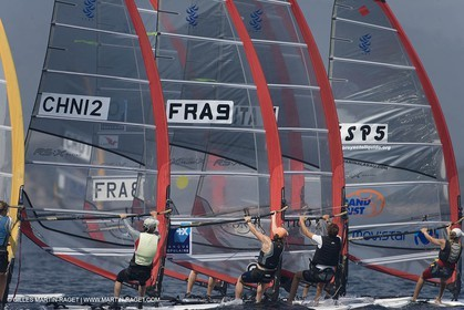 25 04 2007 - 2007 Semaine Olympique Française - Hyères (South of France) - Day 4 - Team France - RS:X - Merret Faustine