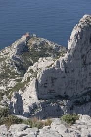 18 04 2009 - Marseille (FRA, 13) - Les Calanques- Semaphore and arrête East du rocher des Goudes