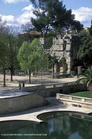 Nîmes - Fountaine garden