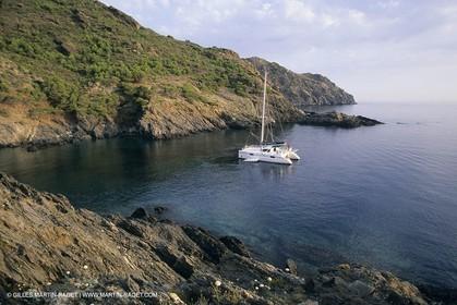 sailing - Cruising - Multihull at the mooring