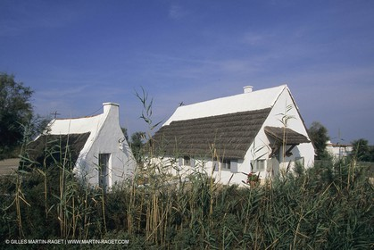 France, Provence, Camargue, Cabane de gardian, Gardian quant