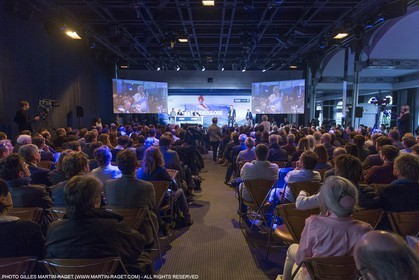 03 02 2016, Paris (FRA), 2016-17 Vendee Globe, Press conference and skippers presentation