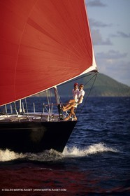 Sailing, cruising, people, couples onboard