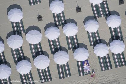France, Provence, Saint Tropez, plage de Pampelonne