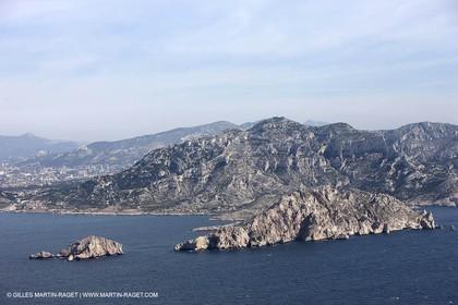 10 03 2009 - Marseille (FRA, 13) - Les Calanques - Ile Maire et massif de Marseilleveyre