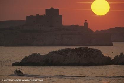 France, Provence, Les Calanques & Iles de Marseille