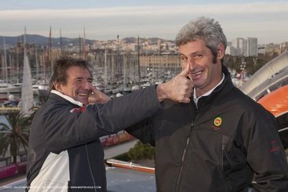 17 12 2010 - Barcelona (ESP) - Barcelona World Race 2010 - Groupe Bel - Preparation
