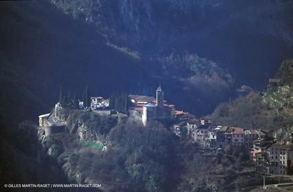 France - Côte d'Azur - Villages perchés des Alpes Maritimes - Lantosque