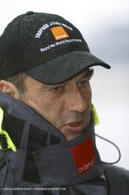 Bruno Peyron - Orange II - Jules Verne Trophy 2004 - Lorient return