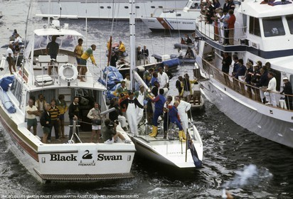America's Cup, Newport 1983, Australia II, Finale