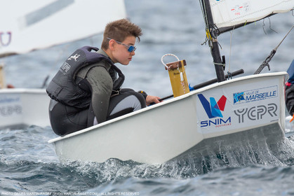 15 04 2016, Marseille (FRA,13), SNIM Dériveurs, Coupe Internationale de Printemps Optimist, Final Day