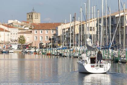 28 01 2016, Sète (FRA,34), Cruising on Thau Basin, Mèze